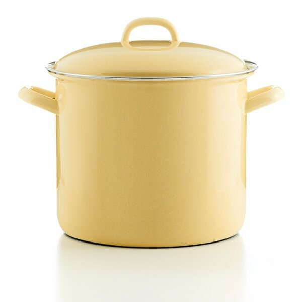 riess emaille Topf goldgrlb 4 Liter pastell