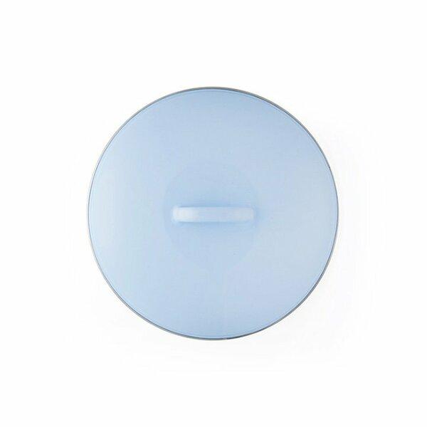 Riess Emaille Deckel Ersatzdeckel 18cm Bunt hellblau pastell