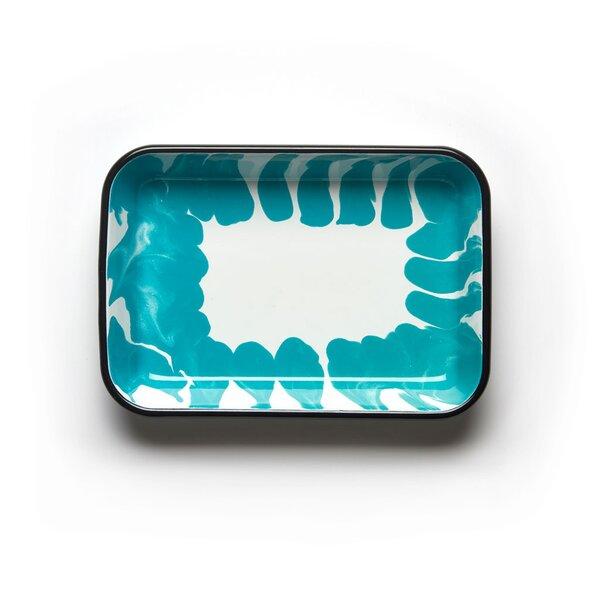 Kapka Emaille Tablett rechteckig