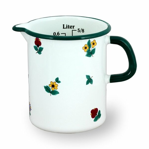 Küchenmaß 0,5 Liter Gmundner Streublumen