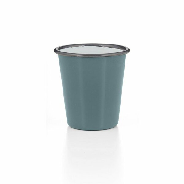Falcon Emaille Tumbler Becher grau