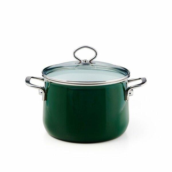 Riess Emaille Verde Fleischtopf 4 Liter top 3000