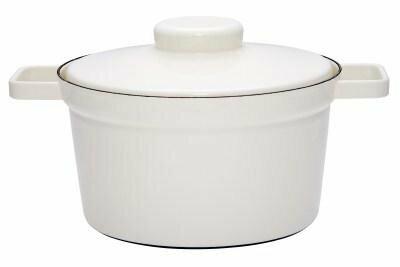 Topf mit Deckel 24cm Pure White Aromapots