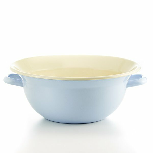 Riess Emaille Weitling hellblau 32cm pastell