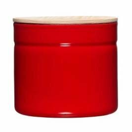 Vorratsdose mit Eschenholzdeckel 1390ml Fresh Tomato