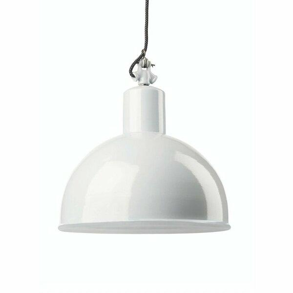 Gics Emaille Lampe Rundstrahler 350 weiß