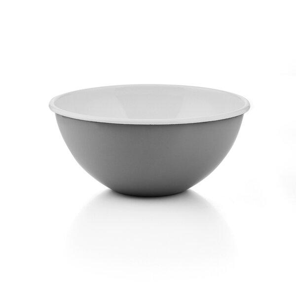 Riess Emaille Obst- und Salatschüssel grau Pure Grey