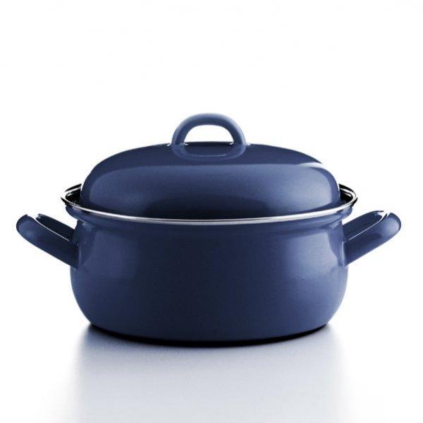 Kasserolle blau 0,75 Liter