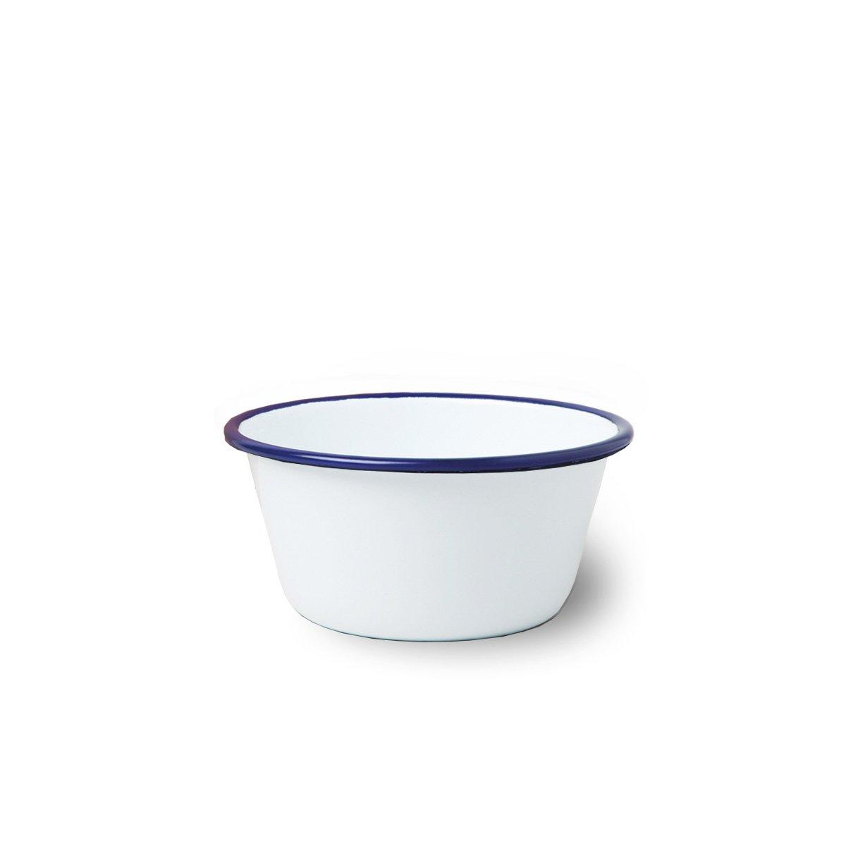 emaille sch ssel wei blau 12cm liv emaille online shop. Black Bedroom Furniture Sets. Home Design Ideas