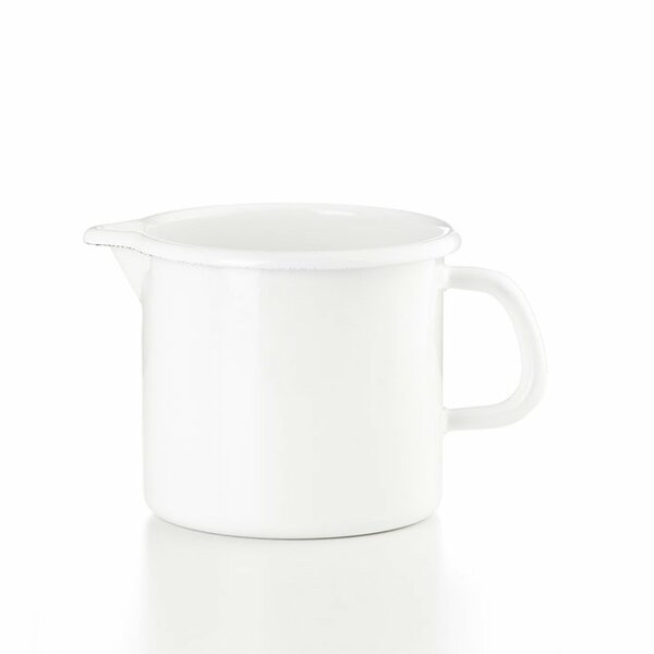 Riess Schnabeltopf weiss Emaille 1,7 Liter