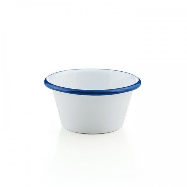 Emaille Schale 14cm weiß Gastro Line