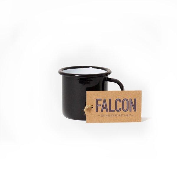 Falcon Emaille Espressotasse Espresso Tasse schwarz