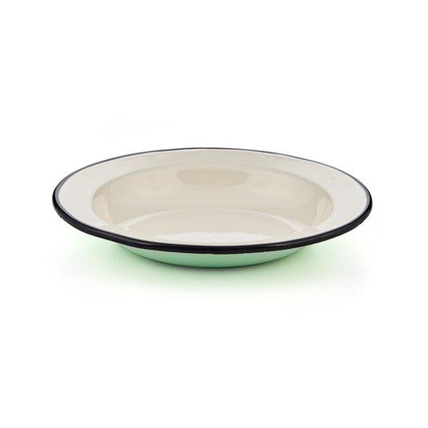 Emaille Suppenteller Teller tief mintgrün
