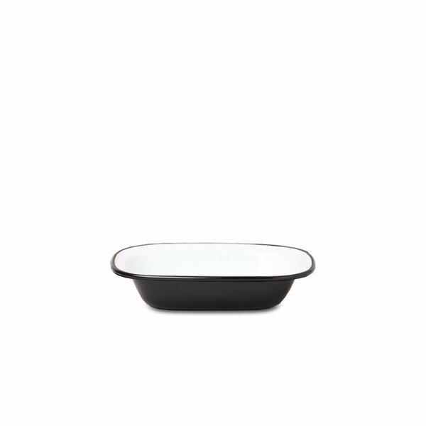Falcon Emaille Pie Dish Ofenschale schwarz