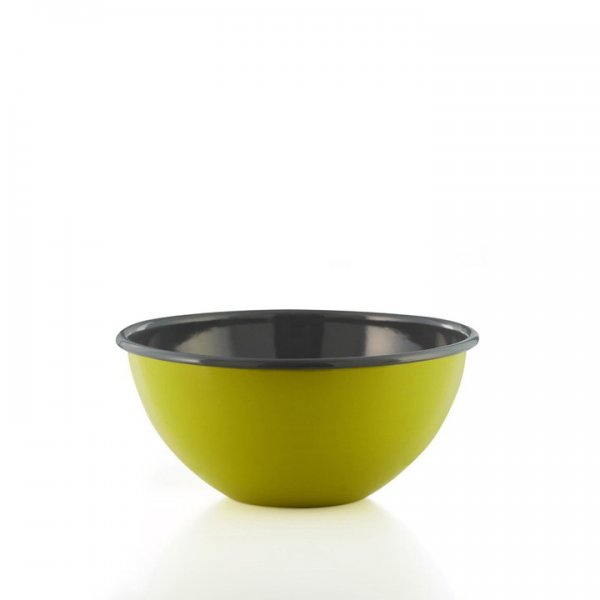 Riess Emaille salatschüssel 22cm fresh lemon green