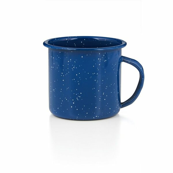 GSI Emaille Tasse 500ml blau