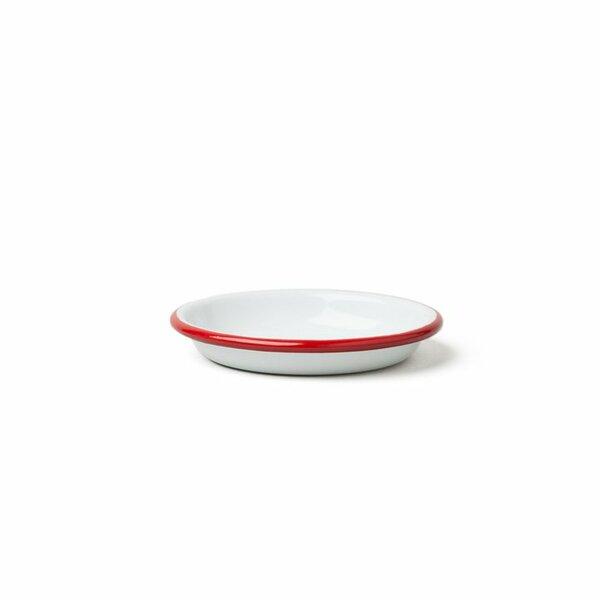 Falcon Emaille Saucen- und Dipschälchen  sauce dishes 10cm rot