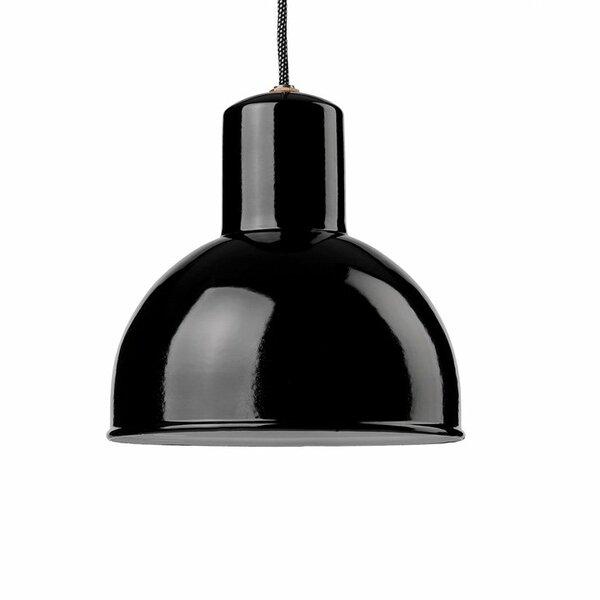 Gics Emaille Lampe Rundstrahler 250 schwarz