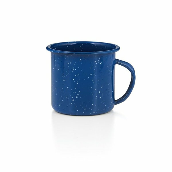 GSI Emaille Tasse 350 ml blau