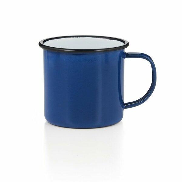 Emaille Tasse Bescher 400ml