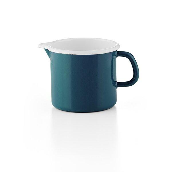"""Riess Schnabeltopf blau Emaille 1 Liter """"Cera Glas Blue"""""""