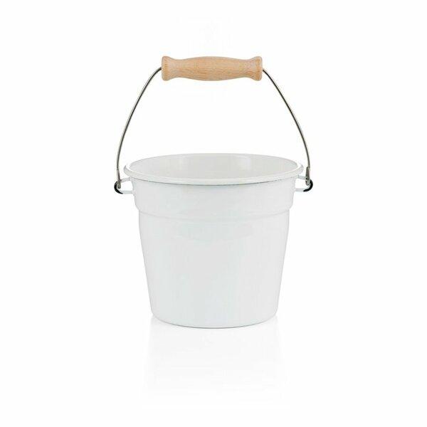 riess emaille minieimer weiß 1,75 liter