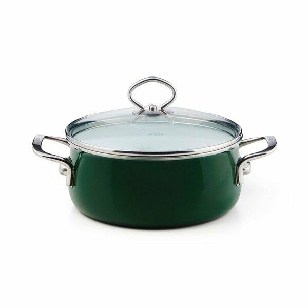 Riess Emaille Verde Kasserolle 4 Liter top 3000
