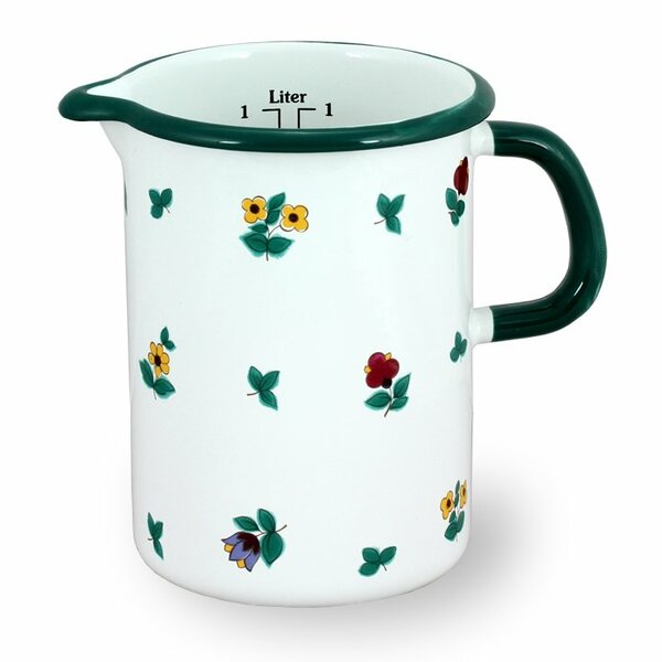 Küchenmaß 1 Liter Gmundner Streublumen