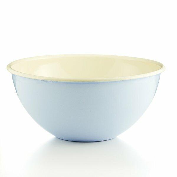 Riess Emaille Obst- und Salatschüssel 30cm Pastell hellblau