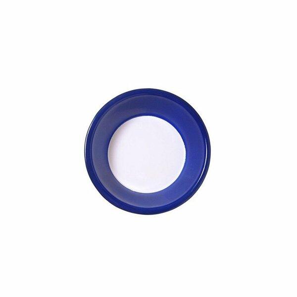 Variopinte Emaille Schüssel 17,5cm cobalt blue
