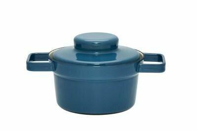 Topf mit Deckel 16cm Silent Blue Aromapots
