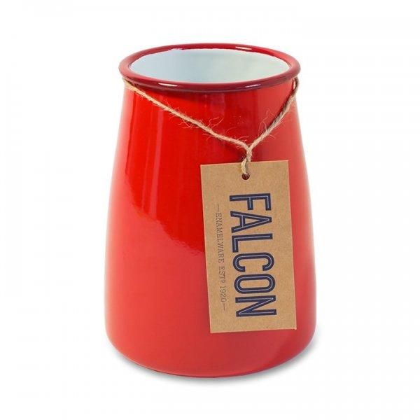 Falcon Emaille Utensilienhalter, Besteckhalter, Vase