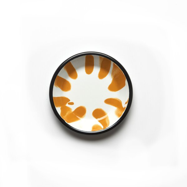 Kapka Emaille Mini Teller Saucen- und Dipschälchen