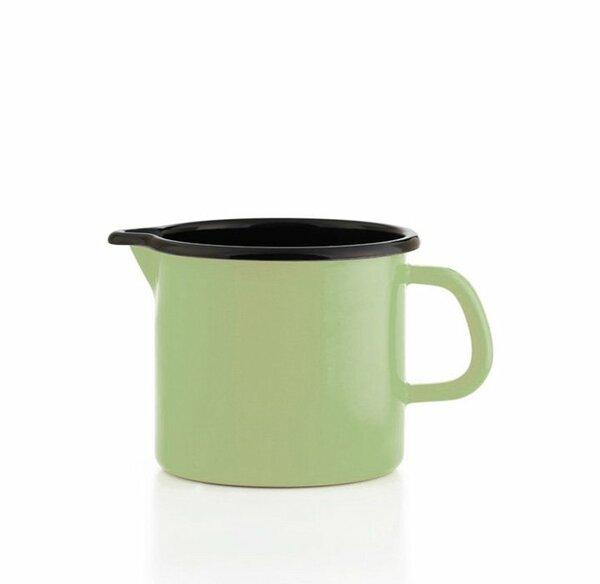 Riess Schnabeltopf grün Emaille 0,75 Liter