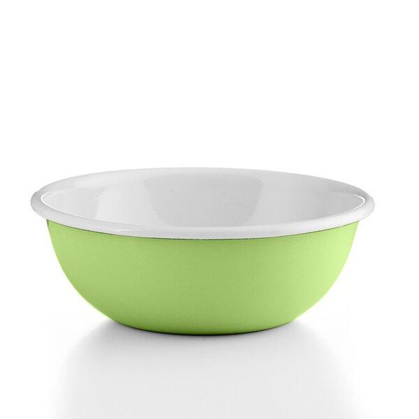 """Riess Emaille Küchenschüssel """"Cera Glas Green"""" grün18cm"""