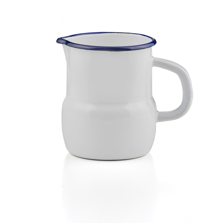 2,5L TEEKANNE Emaille Kaffeekanne Milchkanne Kanne Tee Kaffee Krug 2,5 L