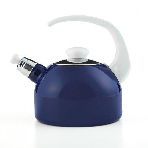 Flötenkessel blau 2 Liter