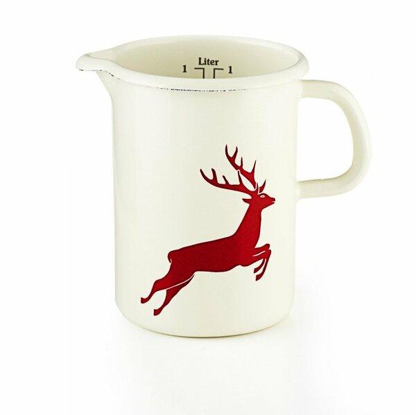 Riess Küchenmaß Hirsch rot 1 Liter