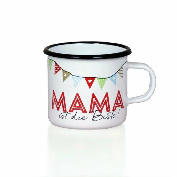 "Emaille Tasse ""Mama ist die Beste!"""