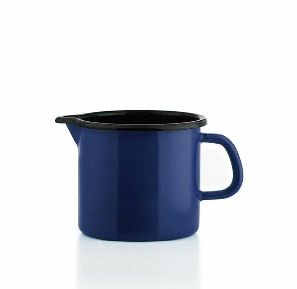 Riess Schnabeltopf blau Emaille 0,5 Liter