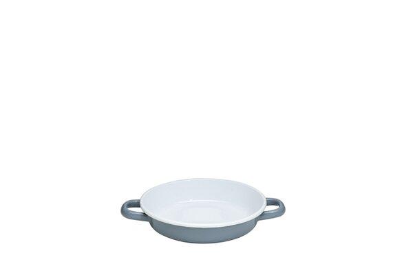 Riess Emaille Eierpfanne grau Pure Grey