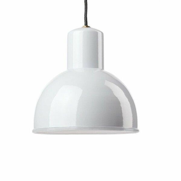 Gics Emaille Lampe Rundstrahler 250 weiß