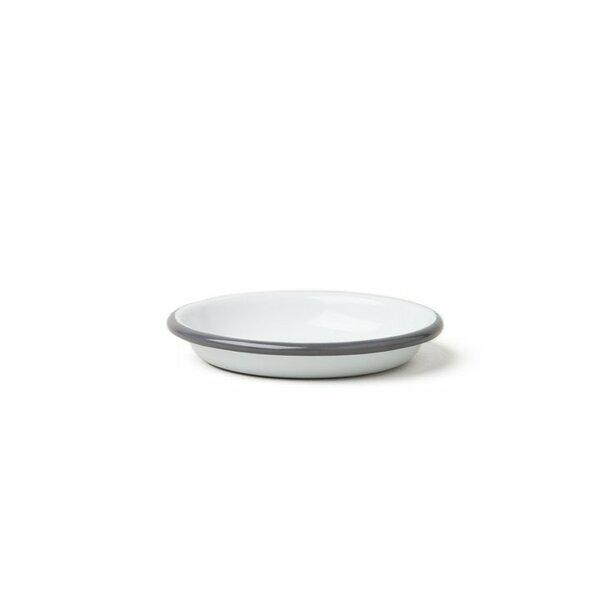 Falcon Emaille Saucen- und Dipschälchen  sauce dishes 10cm grau