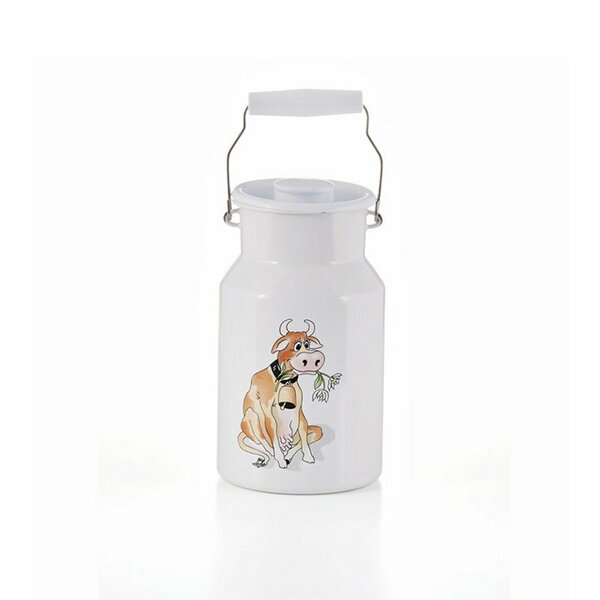 Emaille riess Milchkanne almliesl 1,5 Liter