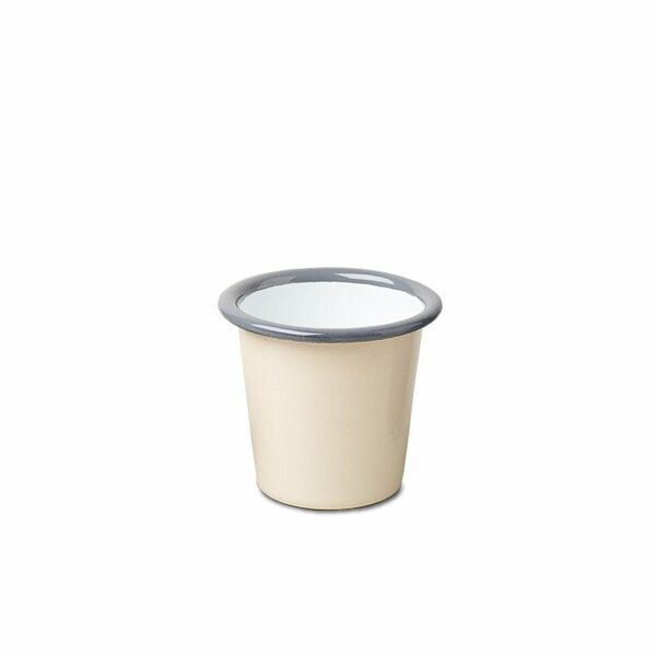 Falcon Emaille Min i Becher Tumbler beige