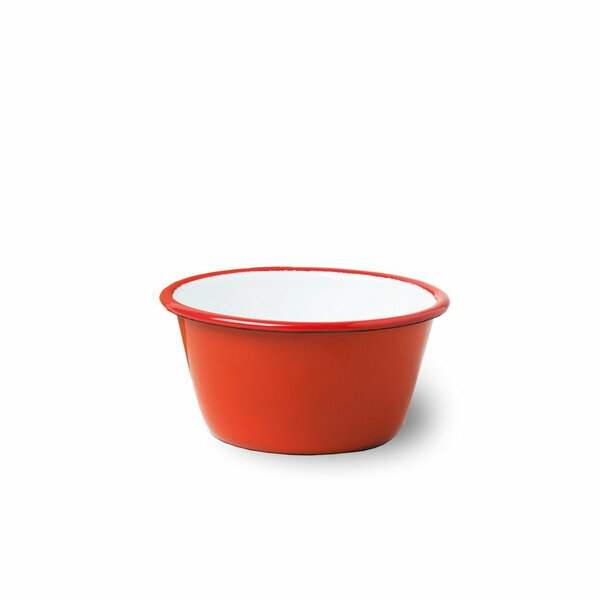 Falcon Emaille Schüssel rot Bowl 12cm