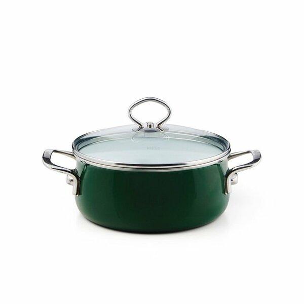 Riess Emaille Verde Kasserolle 2 Liter top 3000