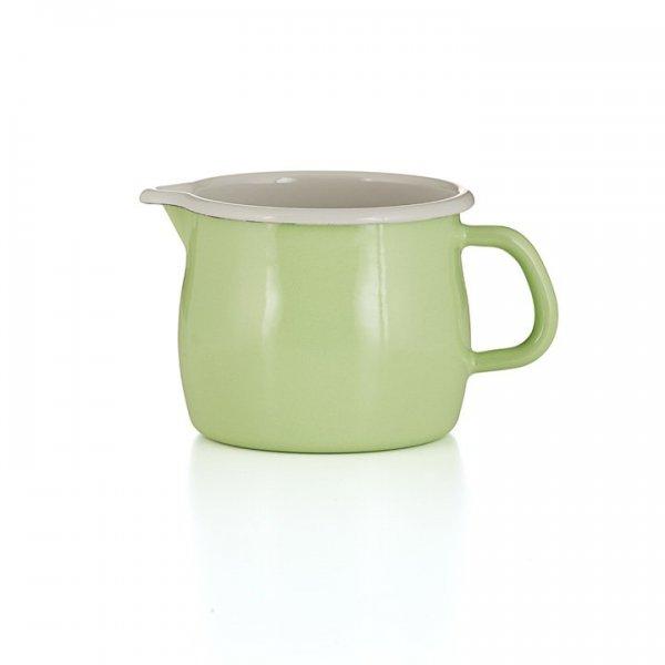 Riess Emaille Schnabeltopf Color Grün 1,7 Liter