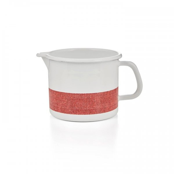Riess Schnabeltopf Linea Emaille 1,7 Liter rot