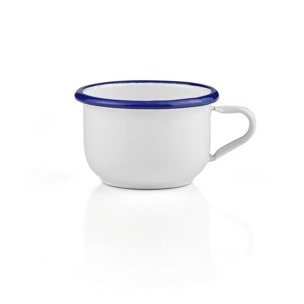 Emaille Kaffeetasse Kaffeebecher Cappuccino Tasse